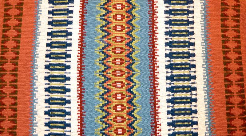 Krokbragd rug by Jenny Mauer