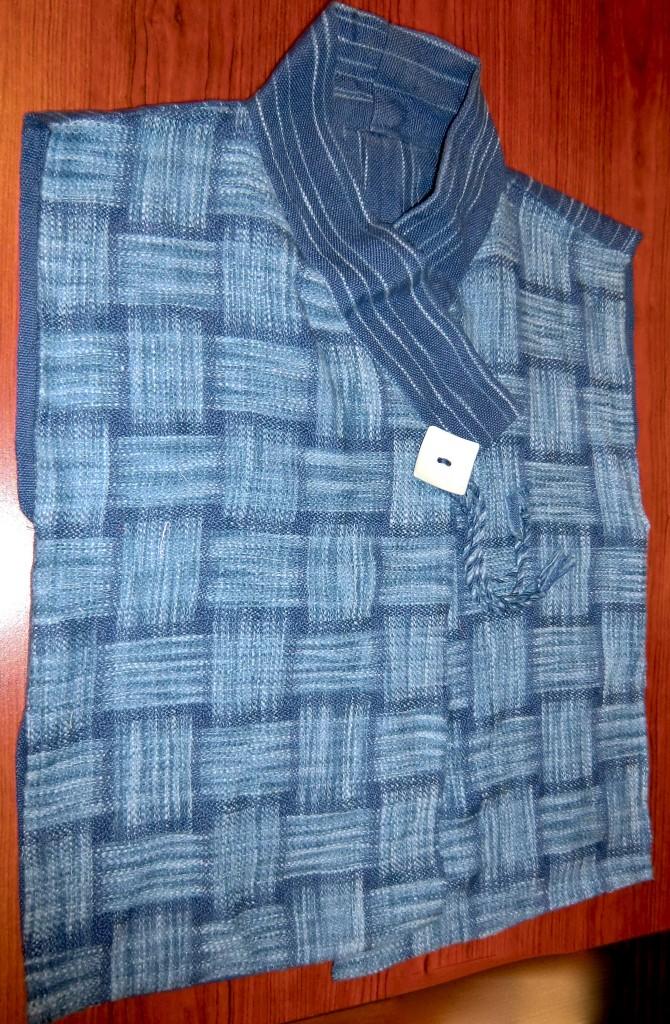Satin weave vest