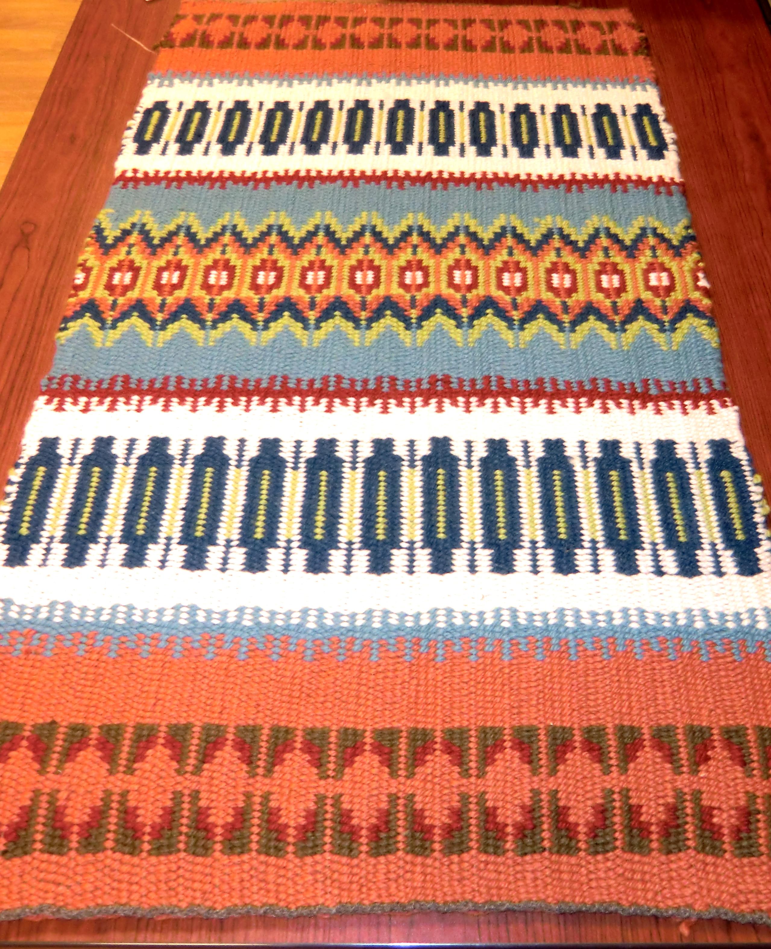 bound weave rug