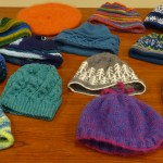 Knit Hats by Jane Vea