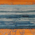 woven rug by Madison Weavers Guild member