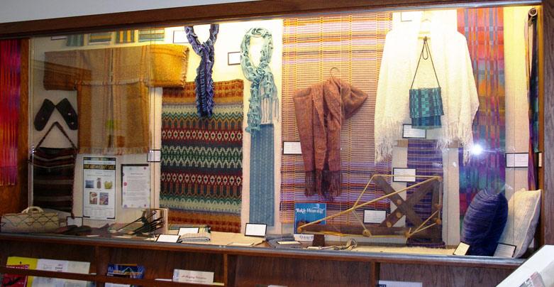 Middleton Library display window